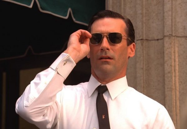 Don Draper and the rising price of vintage AO aviator sunglasses.
