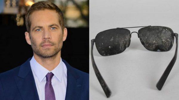 The Paul Walker Death Sunglasses